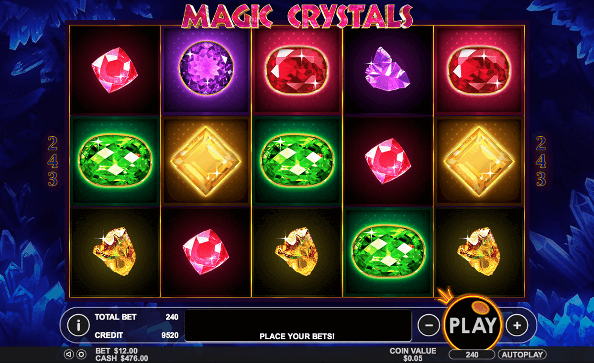 magic crystals pragmatic jogo casino online