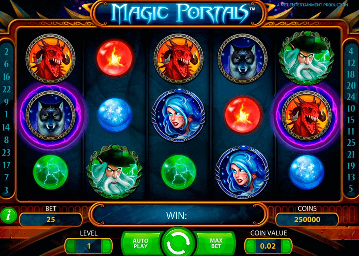 magic portals netent jogo casino online