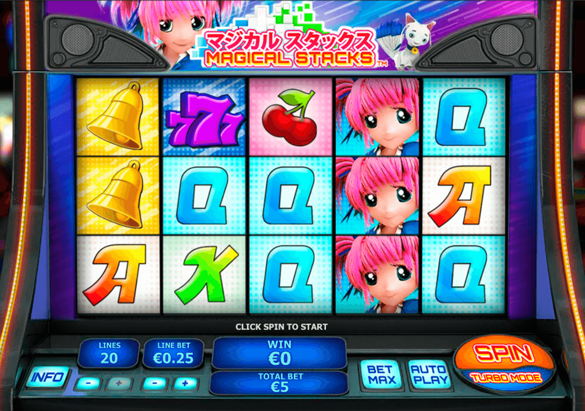 magical stacks playtech jogo casino online