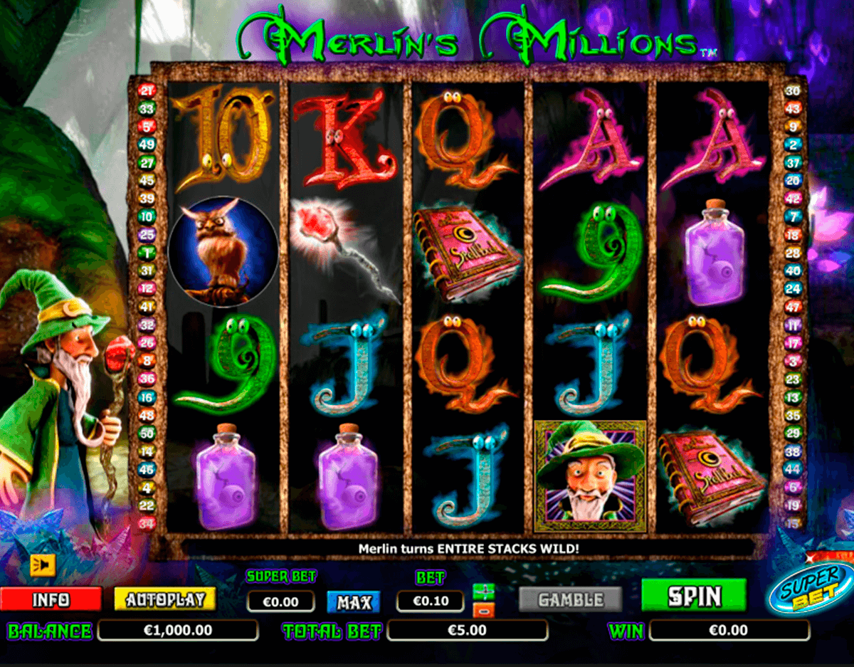 merlins millions superbet nextgen gaming jogo casino online