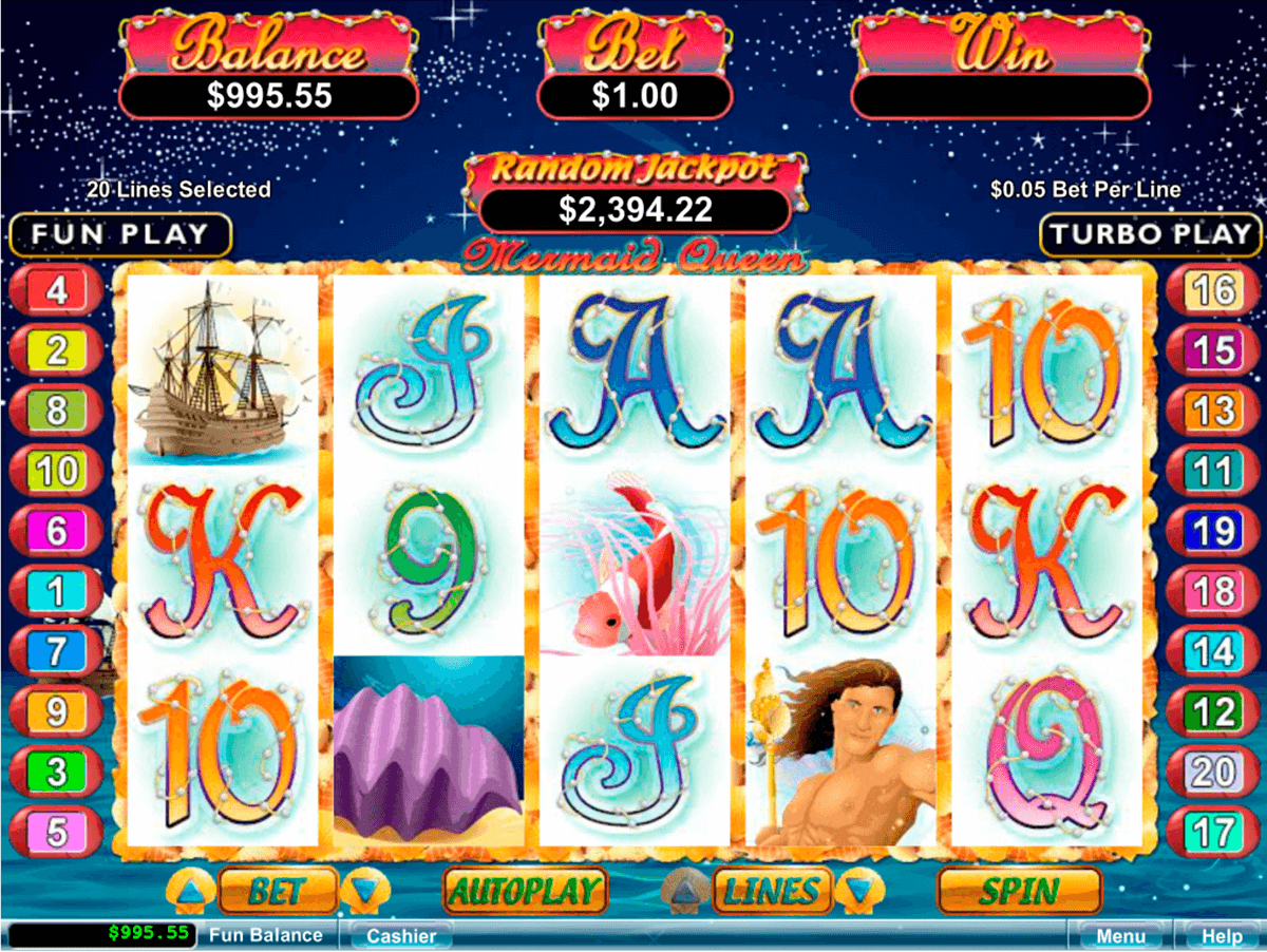 mermaid queen rtg jogo casino online