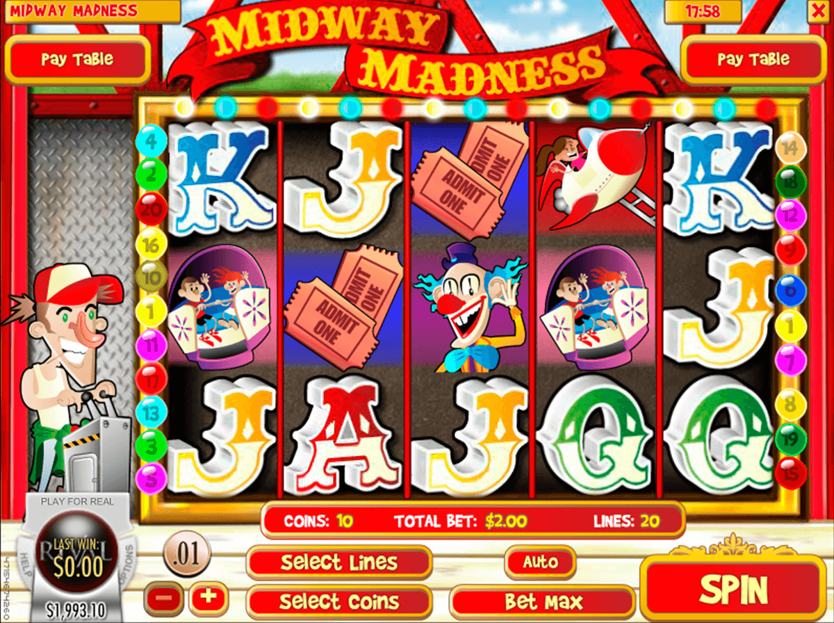 midway madness rival jogo casino online