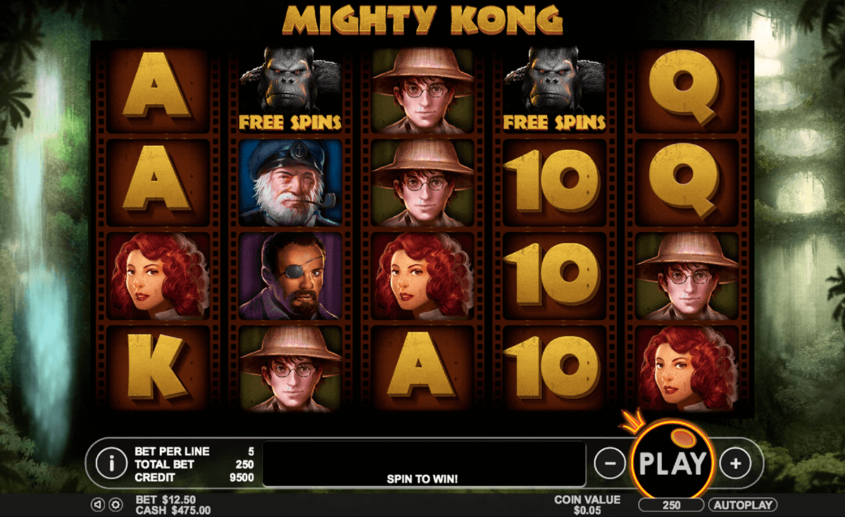 mighty kong pragmatic jogo casino online