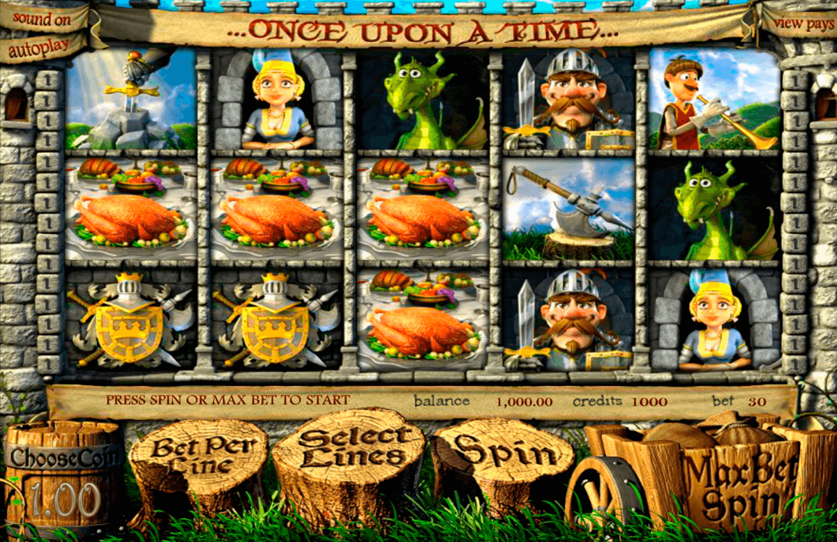 once upon a time betsoft jogo casino online