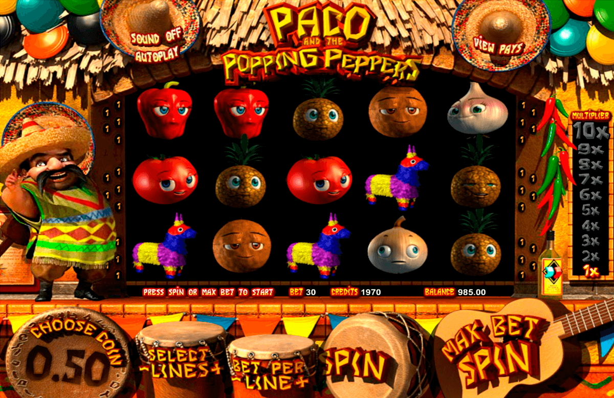 paco and the popping peppers betsoft jogo casino online