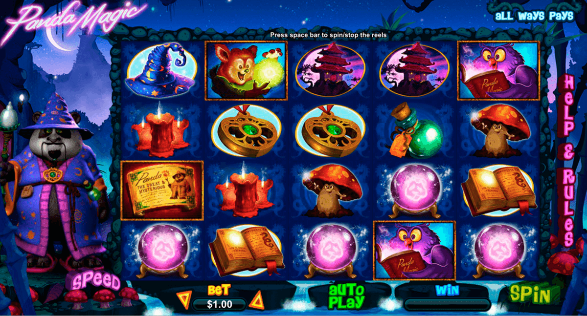 panda magic rtg jogo casino online