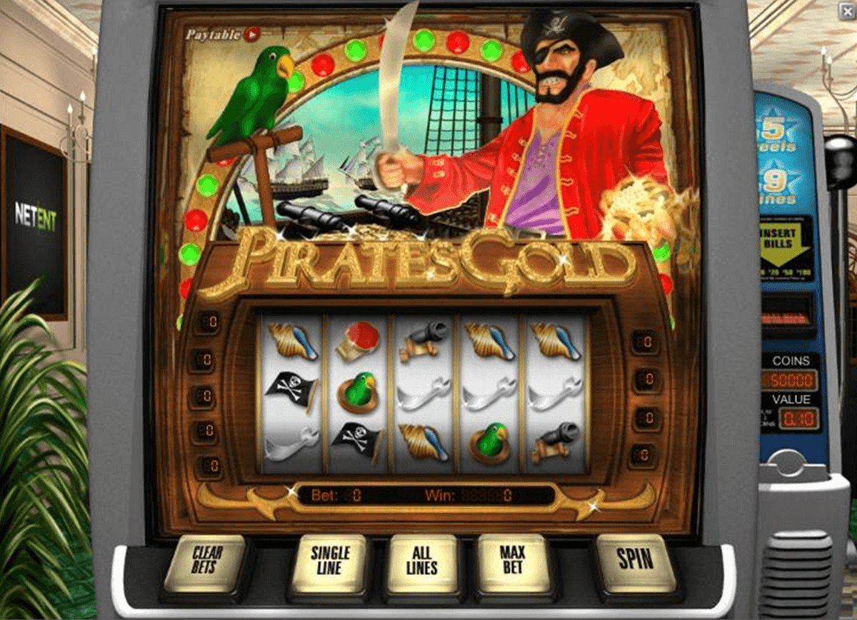 pirates gold netent jogo casino online