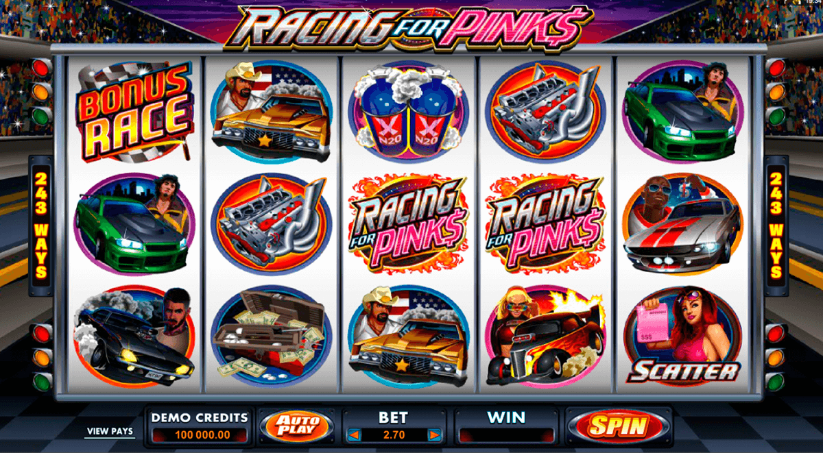 racing for pinks microgaming jogo casino online