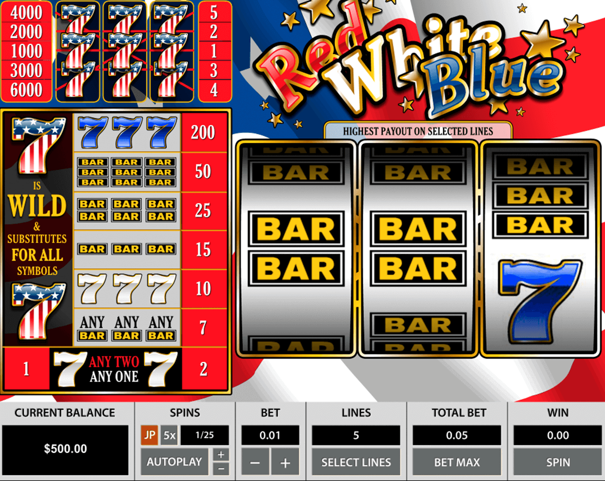 red white blue pragmatic jogo casino online