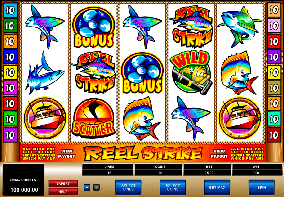 reel strike microgaming jogo casino online