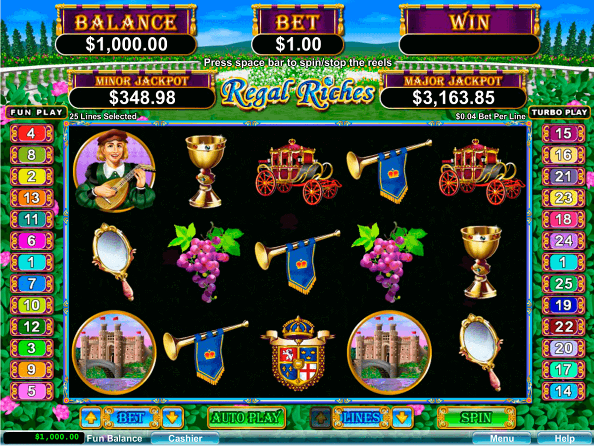 regal riches rtg jogo casino online