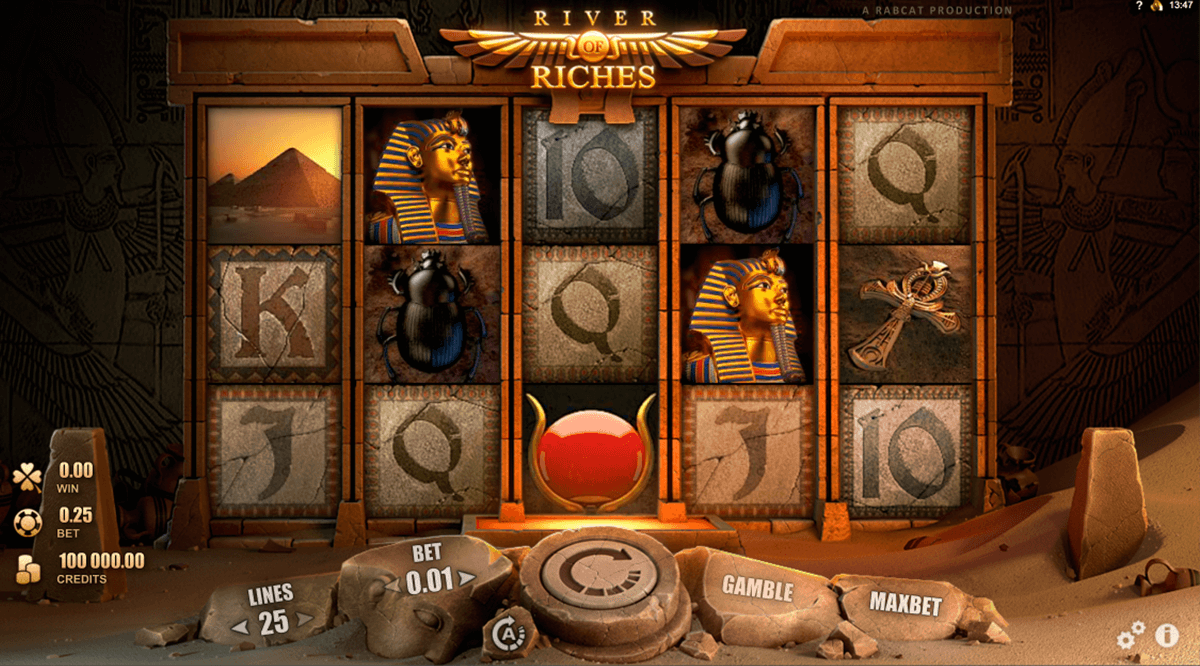 river of riches rabcat jogo casino online