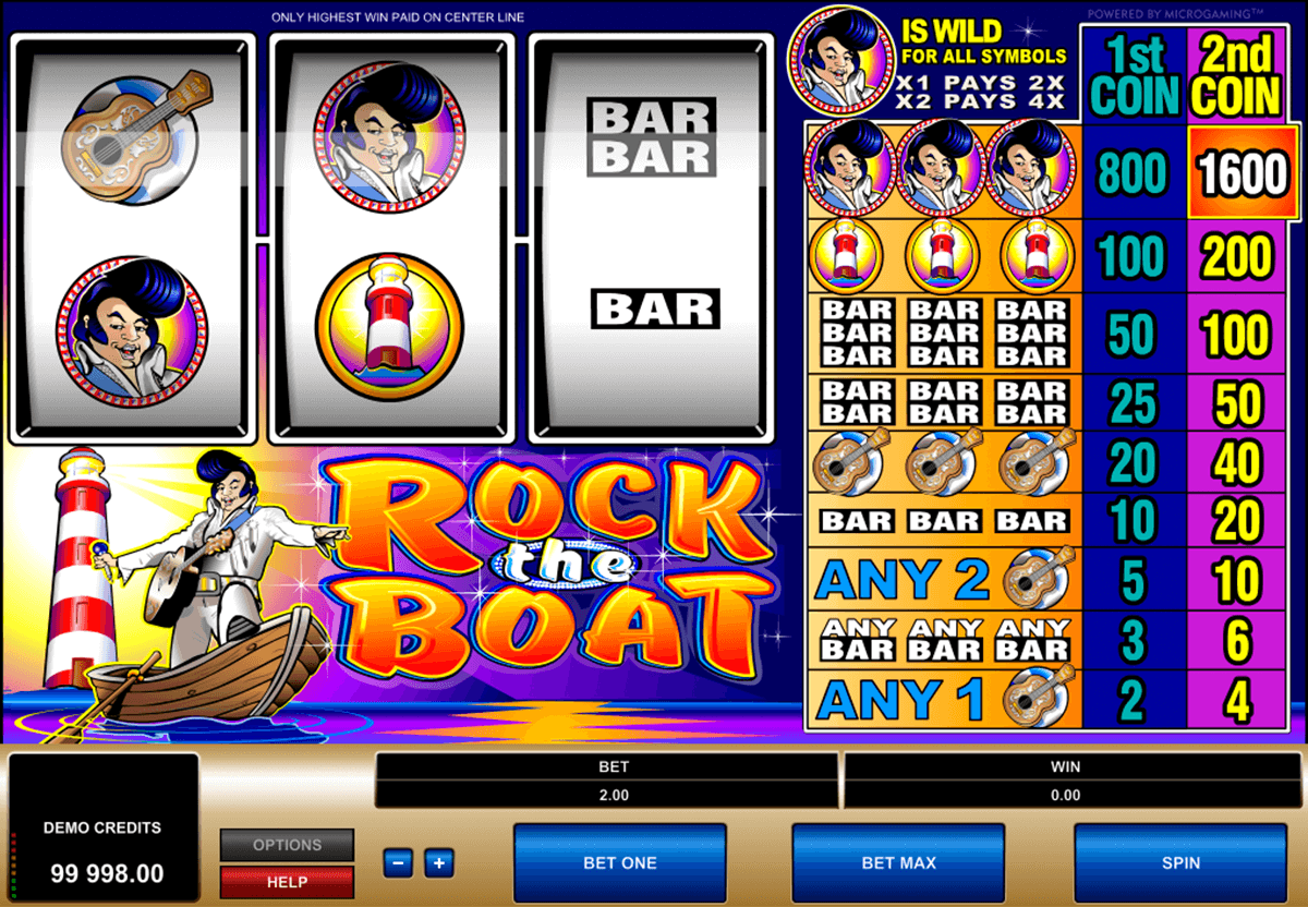 rock the boat microgaming jogo casino online