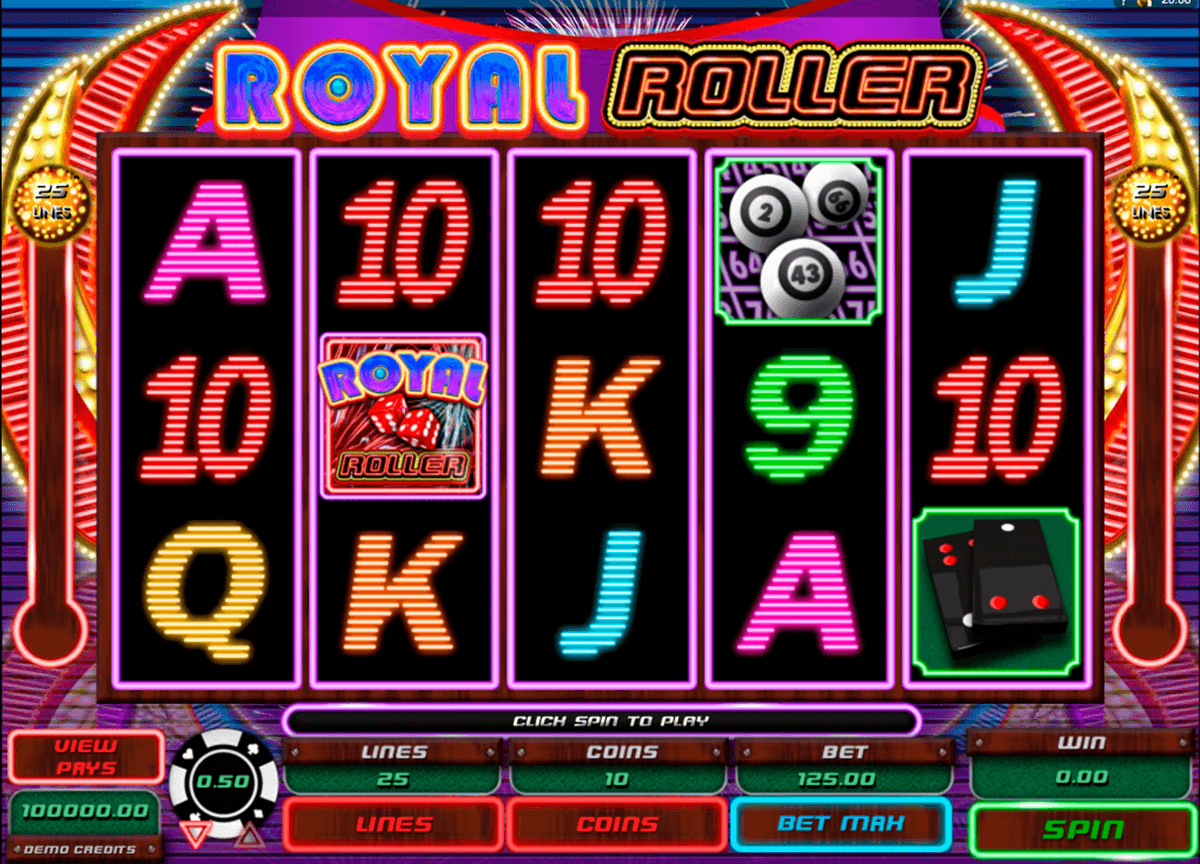 royal roller microgaming jogo casino online