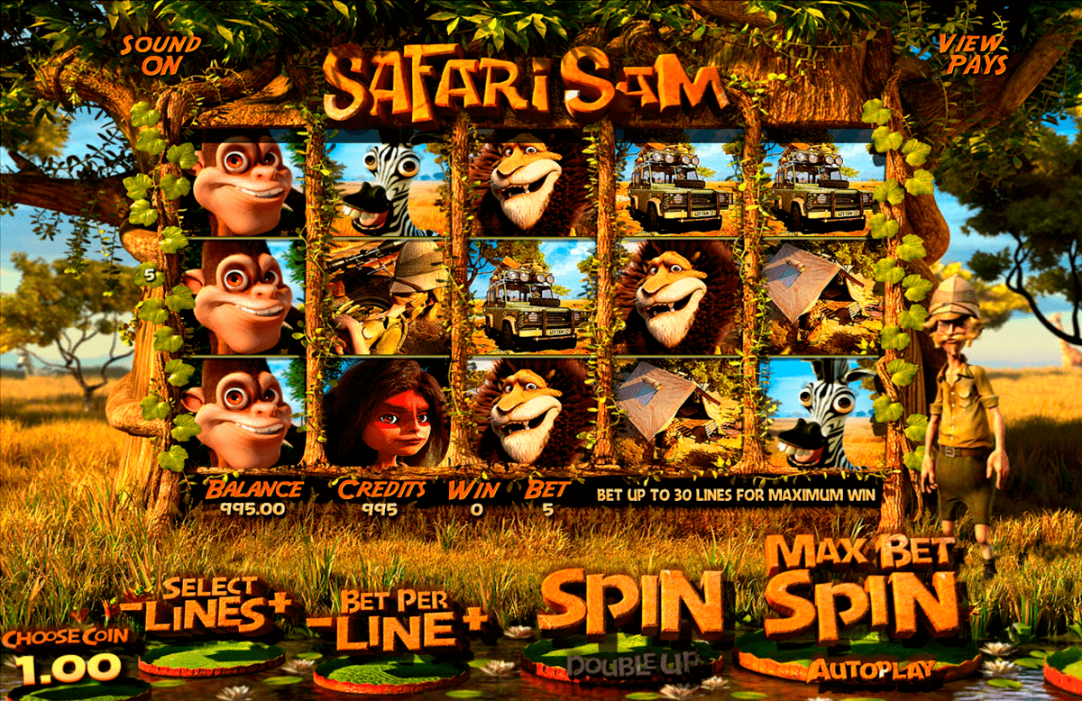 safari sam betsoft jogo casino online