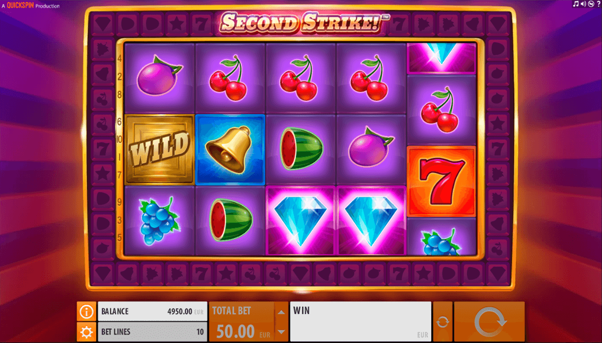 second strike quickspin jogo casino online