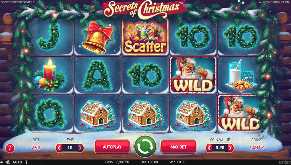 secrets of christmas netent jogo casino online