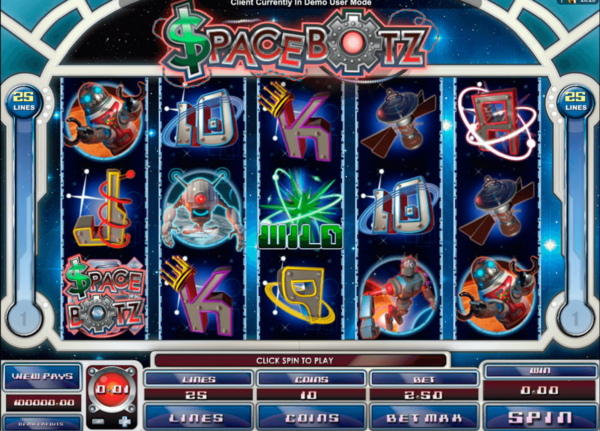 space botz microgaming jogo casino online