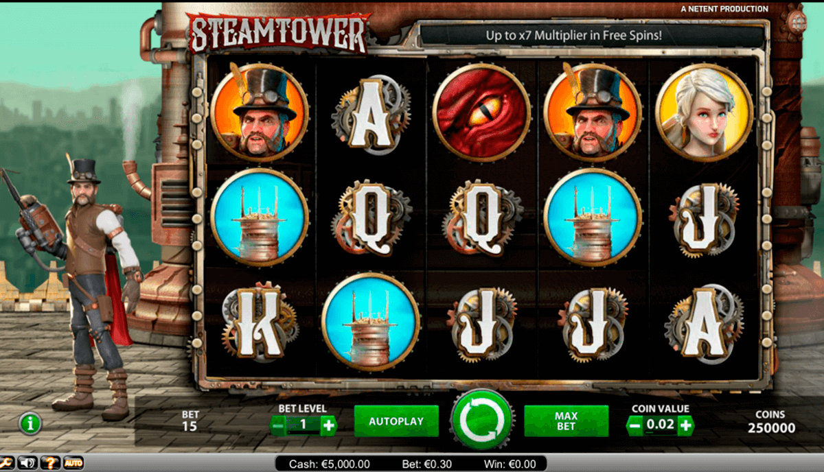 steam tower netent jogo casino online