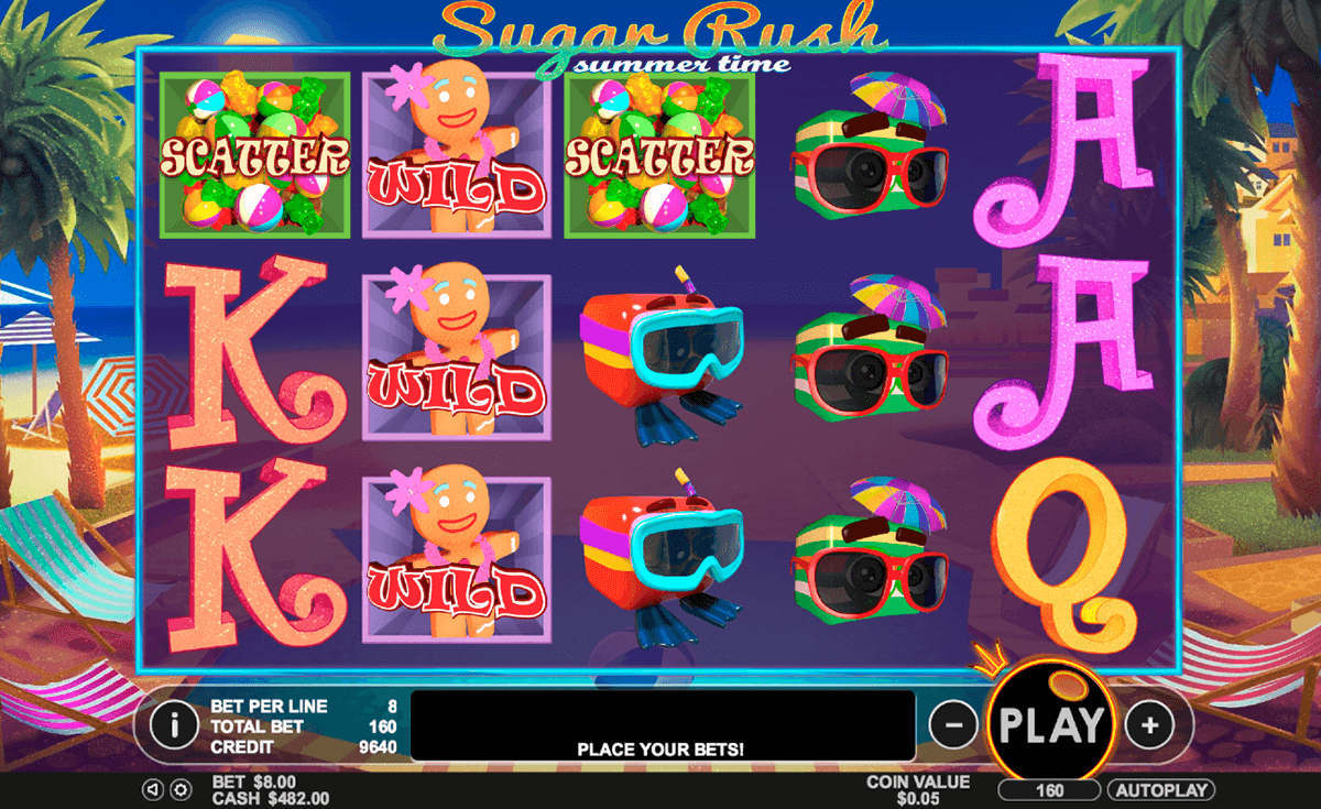 sugar rush summer time pragmatic jogo casino online