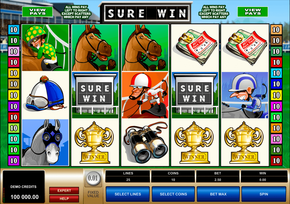 sure win microgaming jogo casino online
