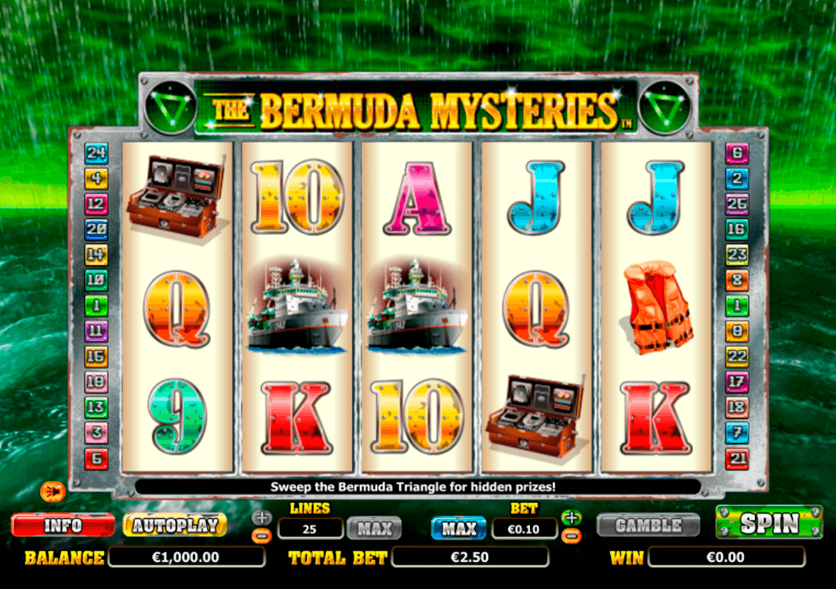 the bermuda mysteries nextgen gaming jogo casino online