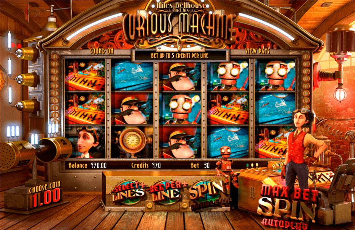 the curious machine betsoft jogo casino online