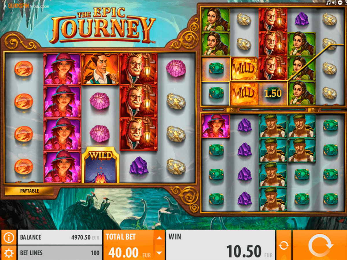 the epic journey quickspin jogo casino online