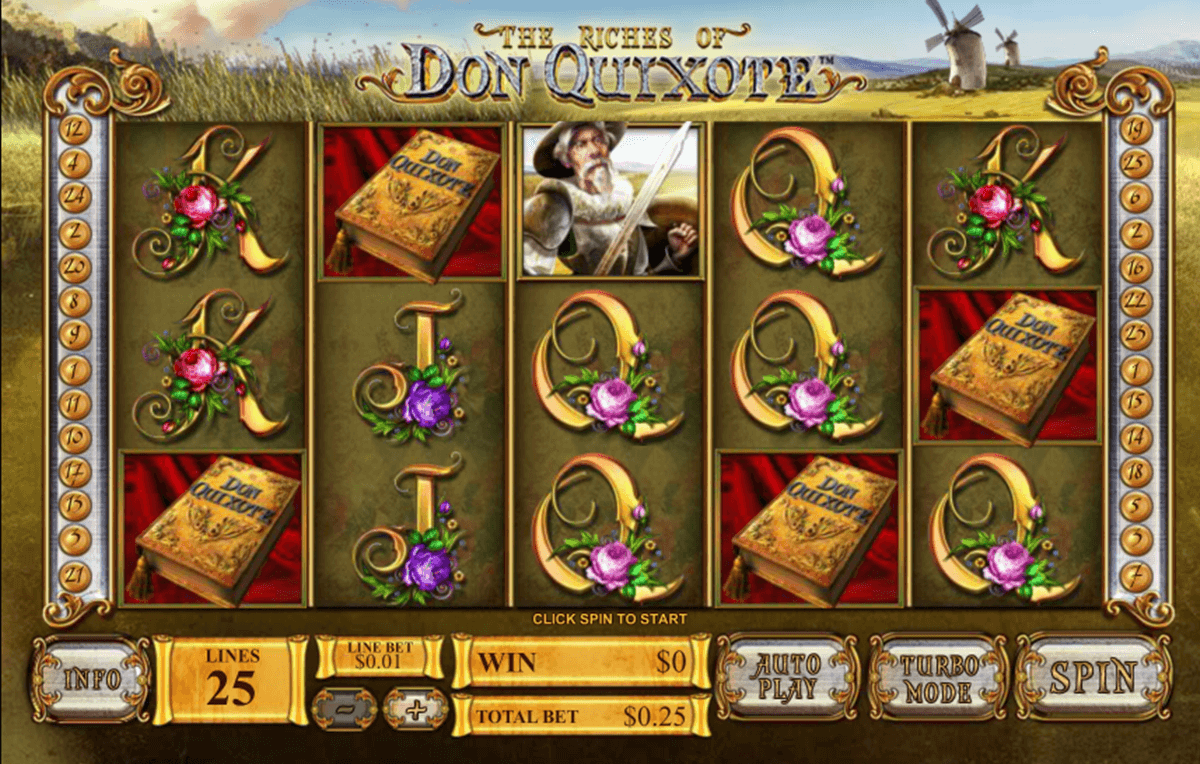 the riches of don quixote playtech jogo casino online