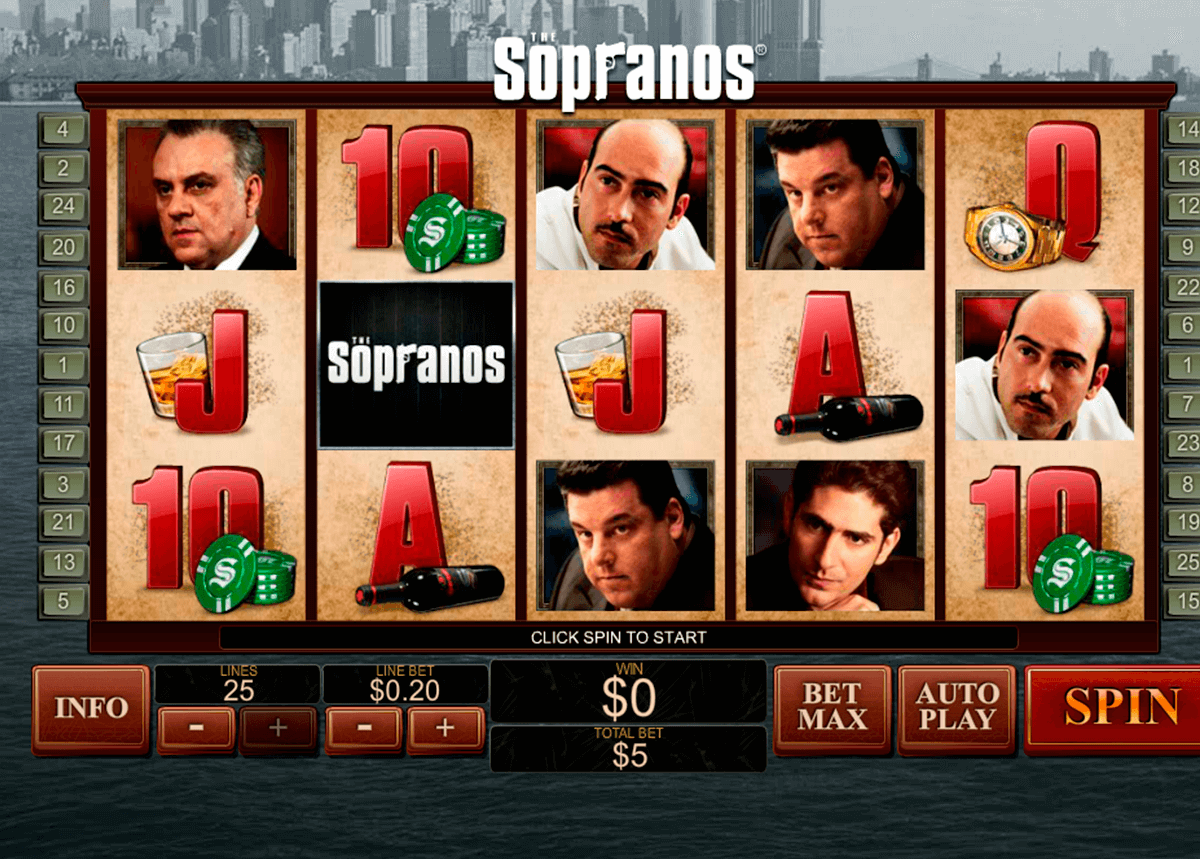 the sopranos playtech jogo casino online