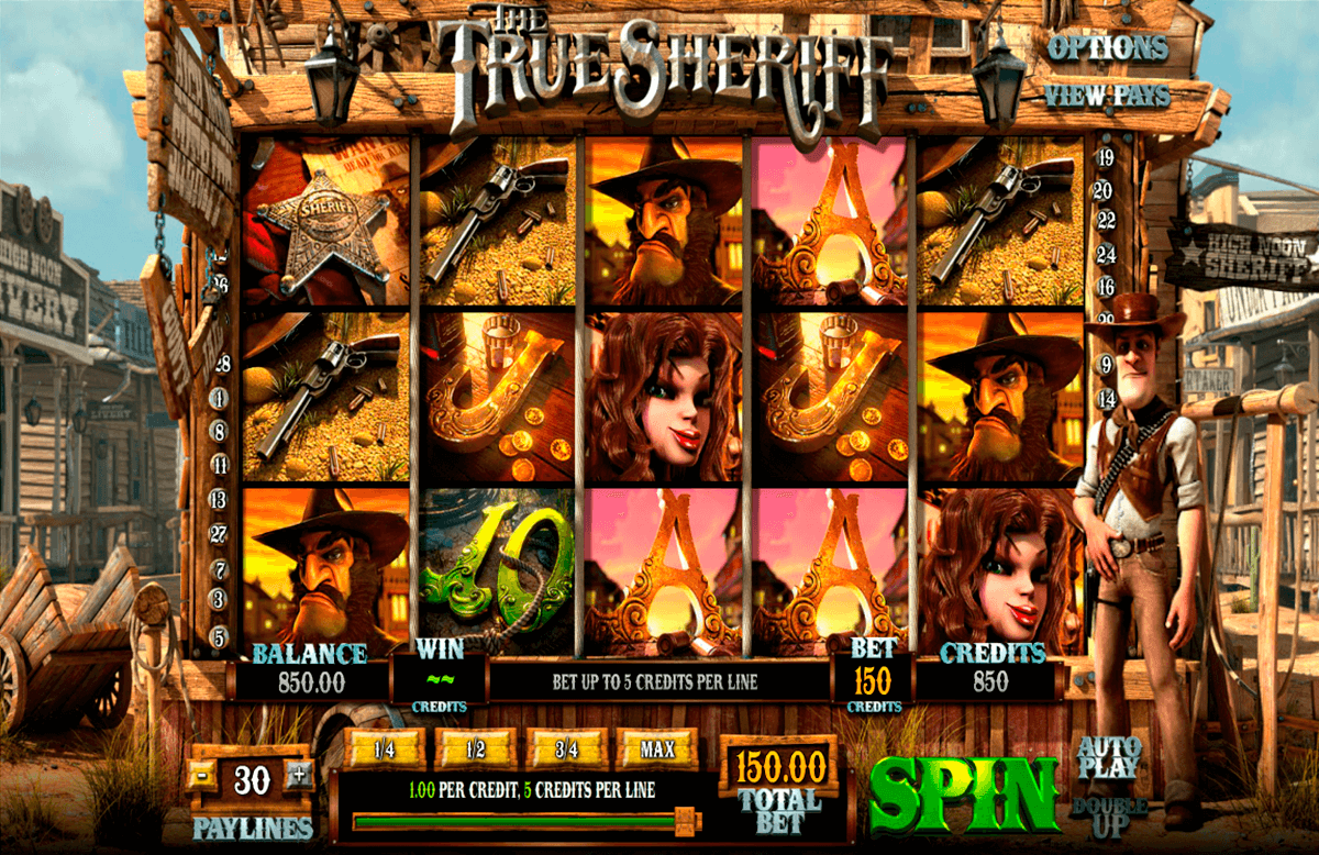 the true sheriff betsoft jogo casino online