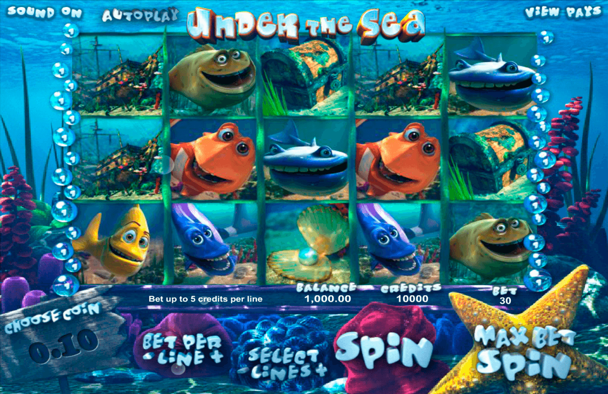 under the sea betsoft jogo casino online