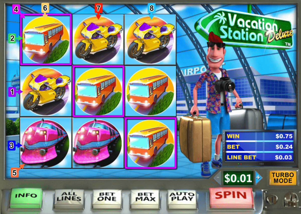 vacation station deluxe playtech jogo casino online