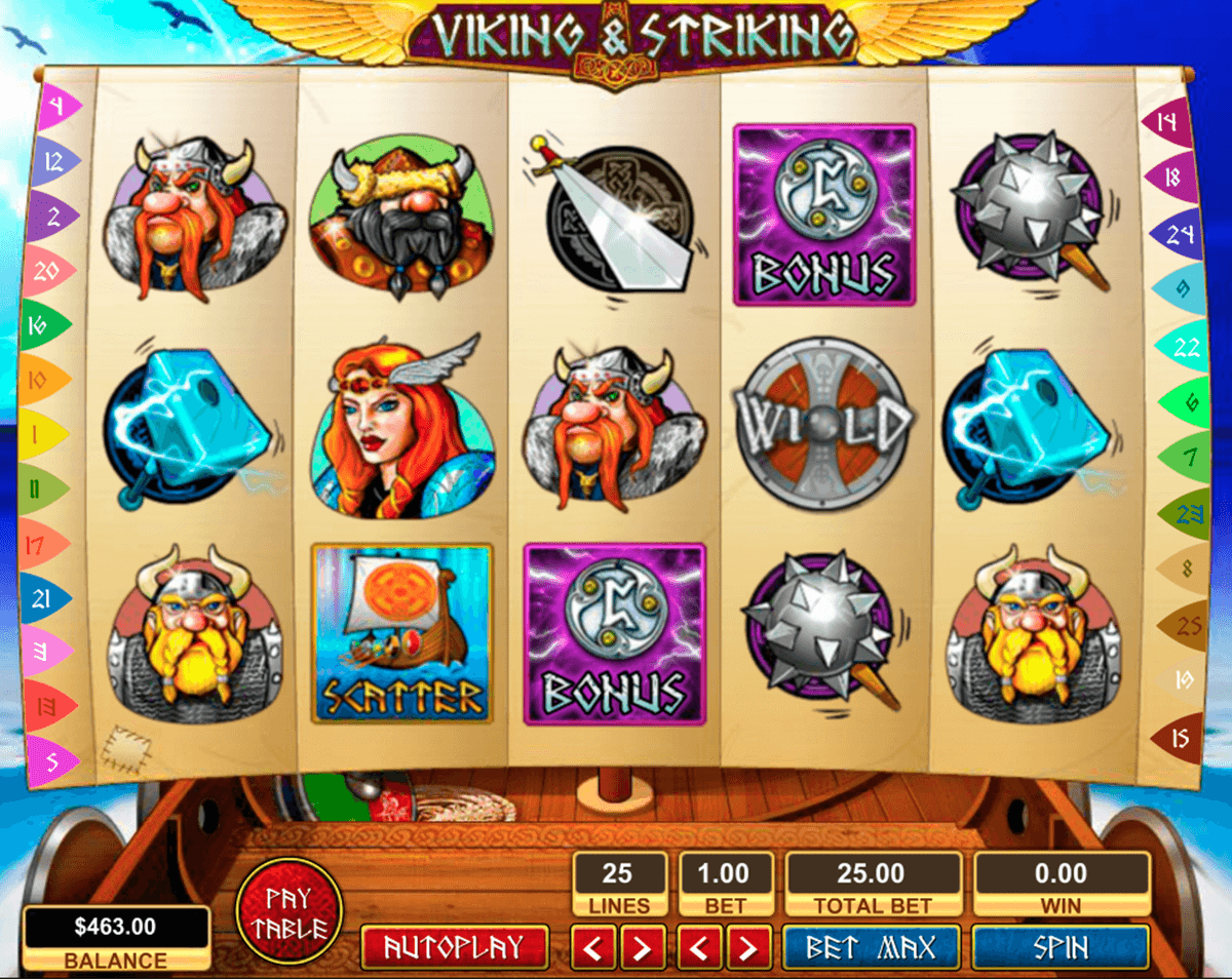 viking striking pragmatic jogo casino online