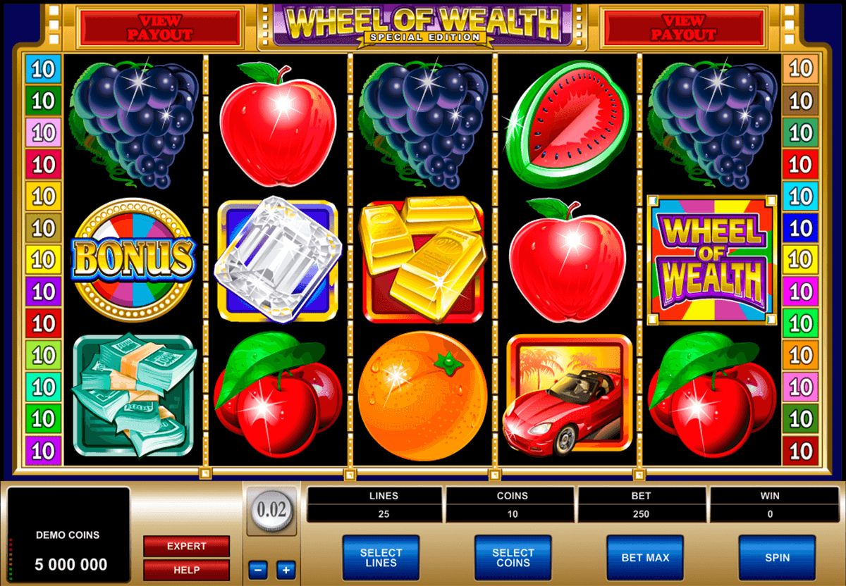 wheel of wealth special edition microgaming jogo casino online