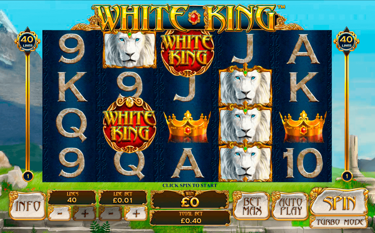 white king playtech jogo casino online