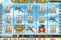 wings of gold playtech jogo casino online