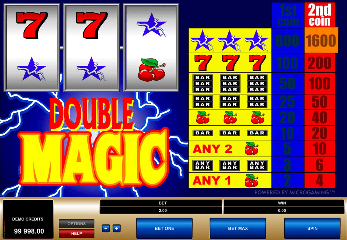 double magic microgaming jogo casino online