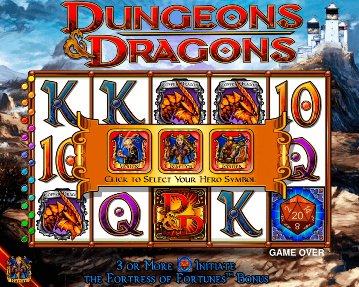 dungeons and dragons igt jogo casino online
