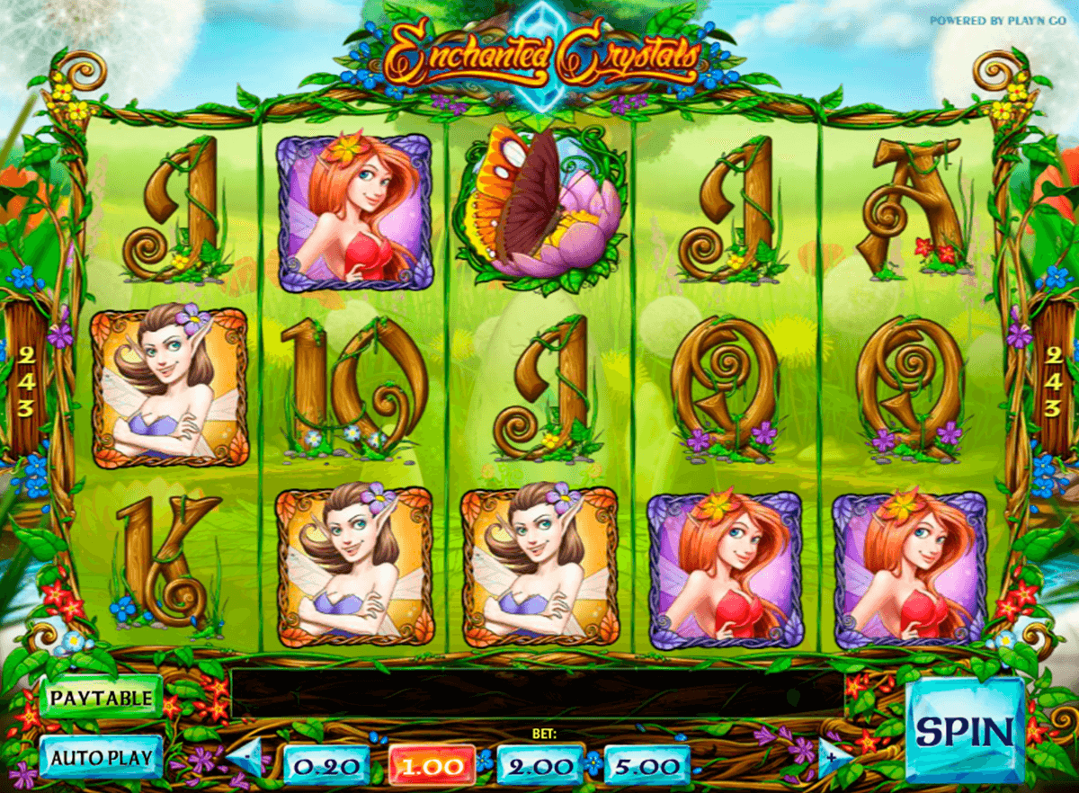 enchanted crystals playn go jogo casino online