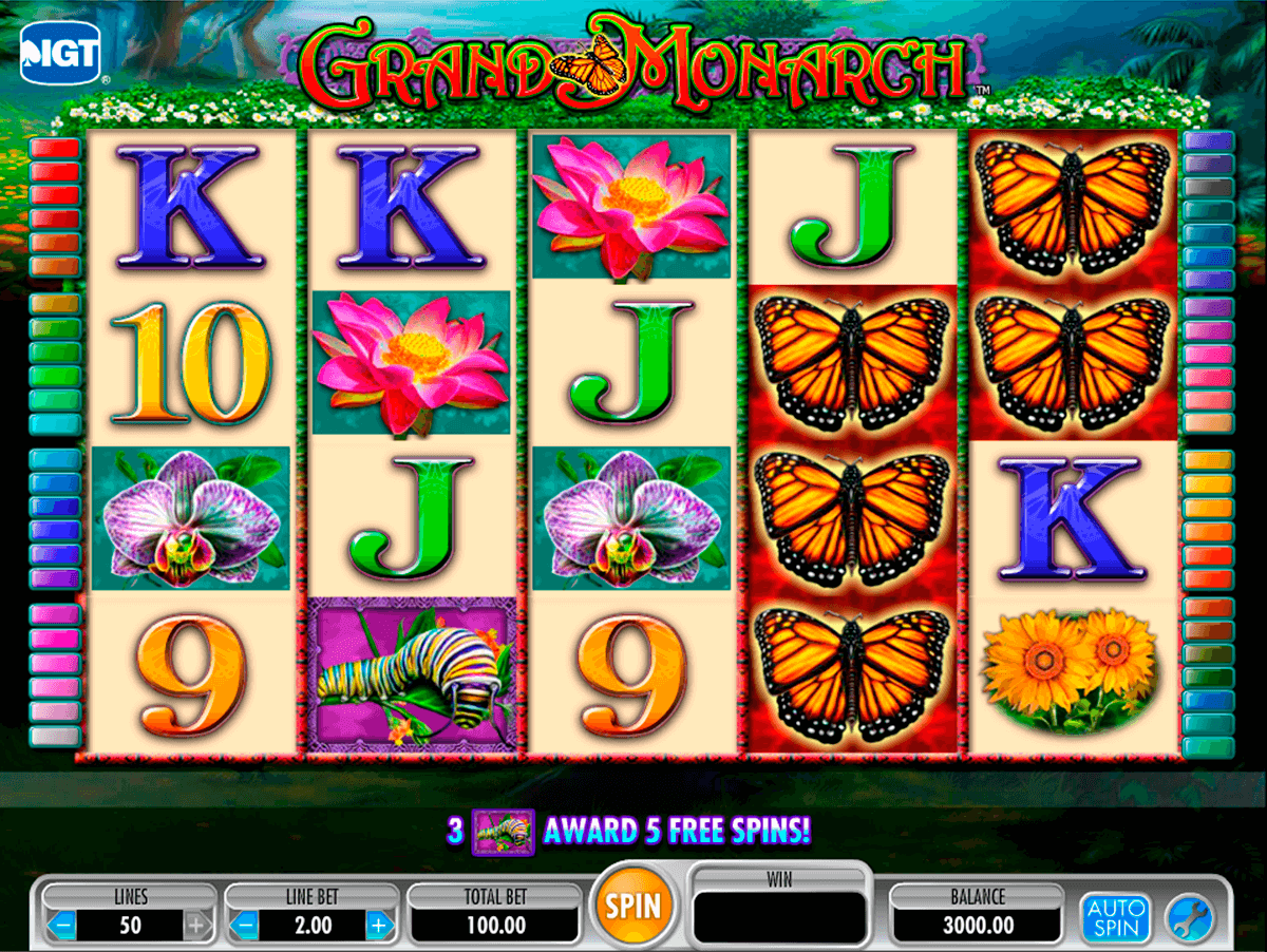 grand monarch igt jogo casino online