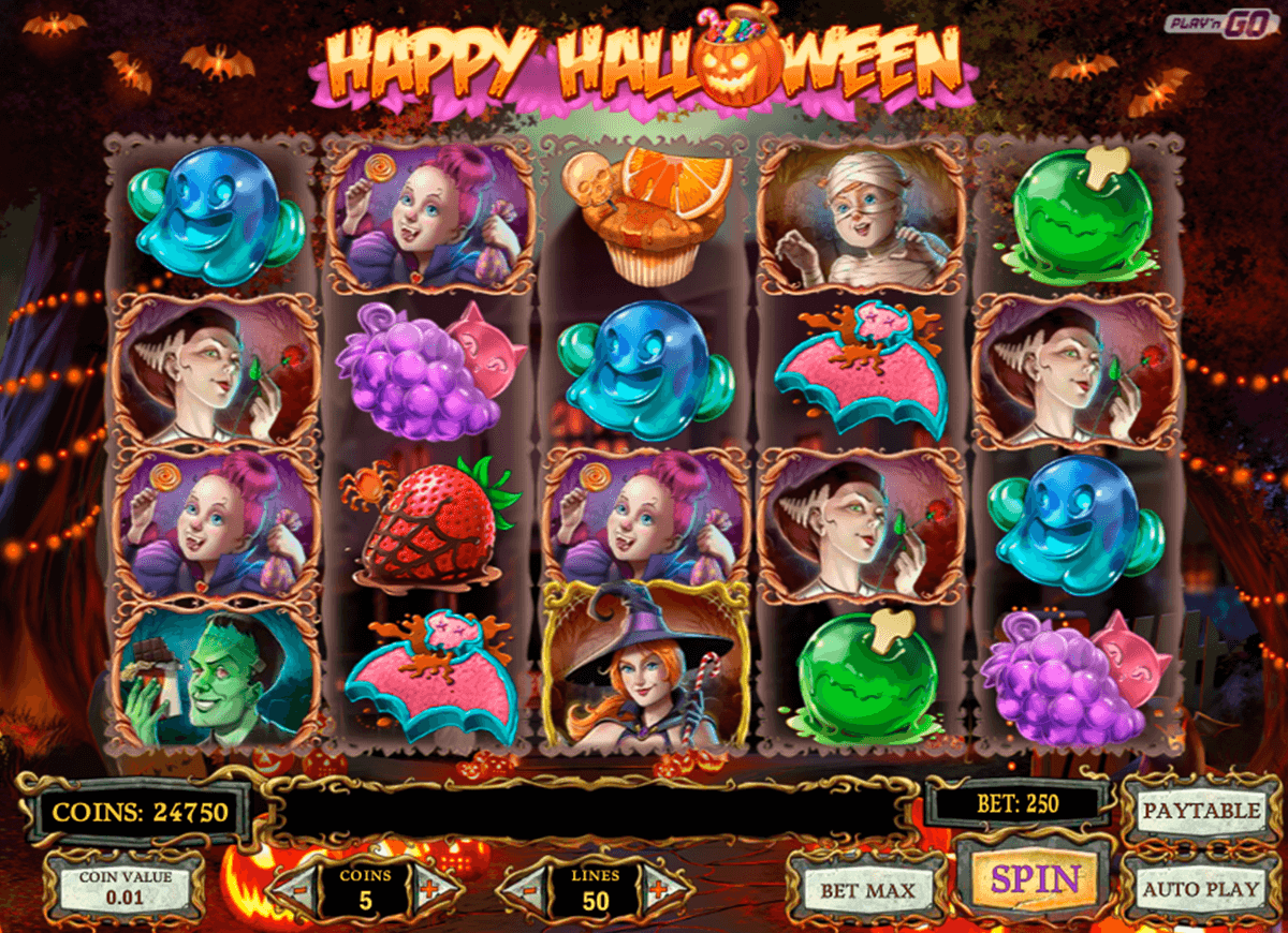 happy halloween playn go jogo casino online