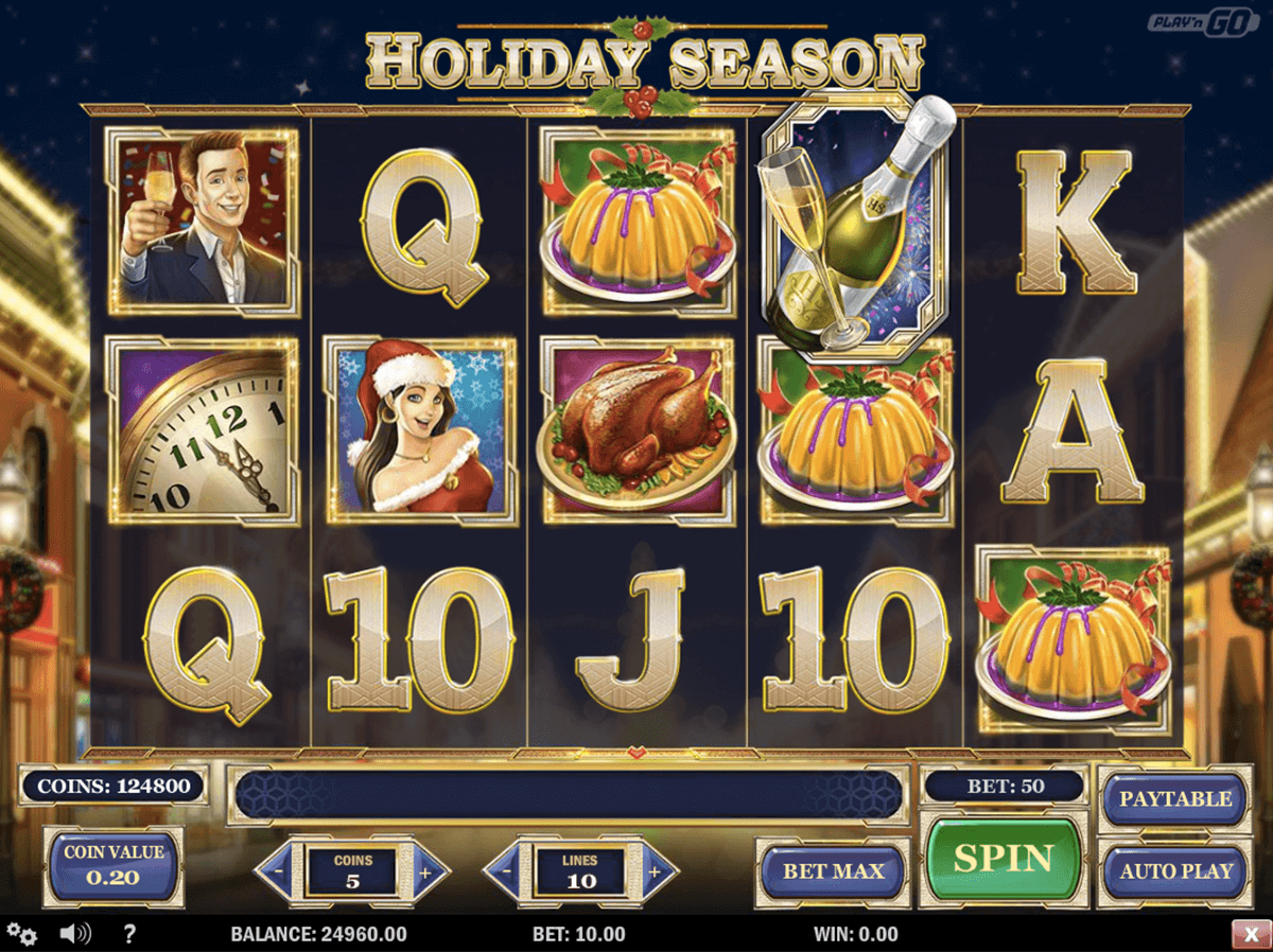 holiday season playn go jogo casino online