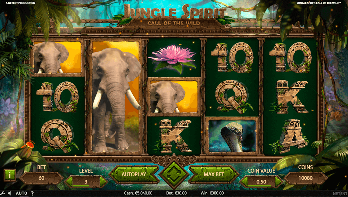 jungle spirit call of the wild netent jogo casino online