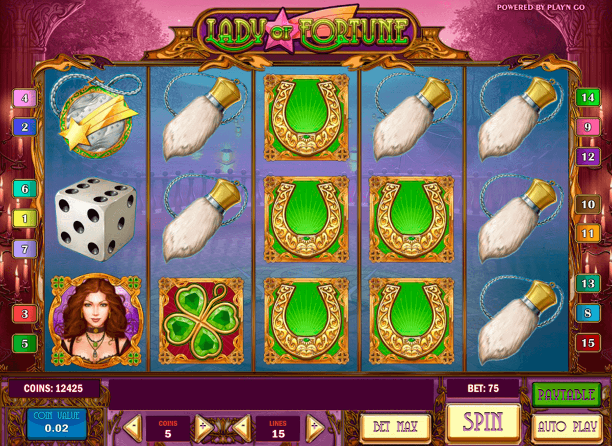 lady of fortune playn go jogo casino online