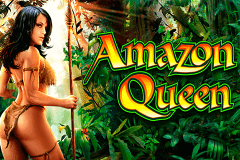 logo amazon queen wms caça niquel