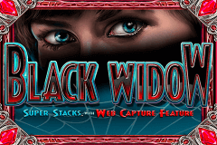 logo black widow igt caça niquel