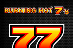 logo burning hot sevens novomatic caça niquel