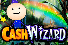 logo cash wizard bally caça niquel