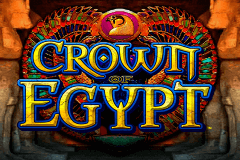 logo crown of egypt igt caça niquel